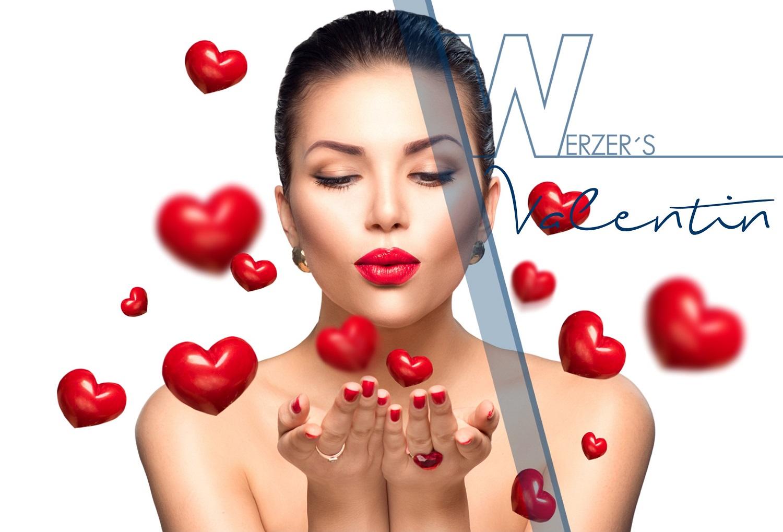 Be my Valentine im im Werzer's Hotel Resort Pörtschach | 14.-16.2. für 2 Personen um € 229 pro Nacht | Valentine Dinner im Werzer's Badehaus um € 55
